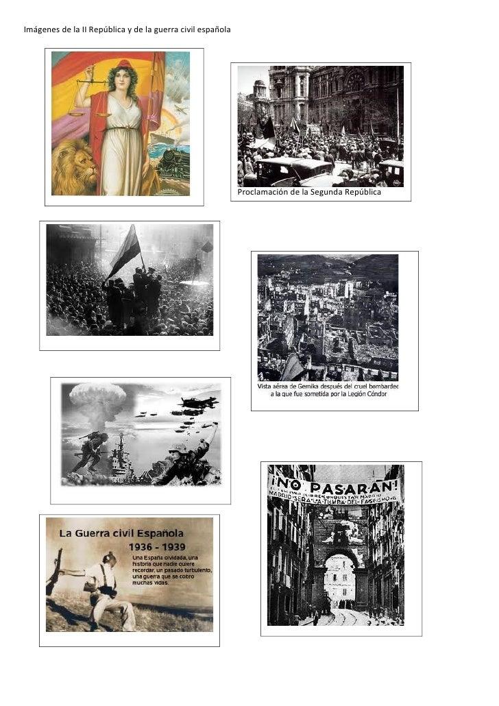 Imágenes de la ii república y de la guerra civil española