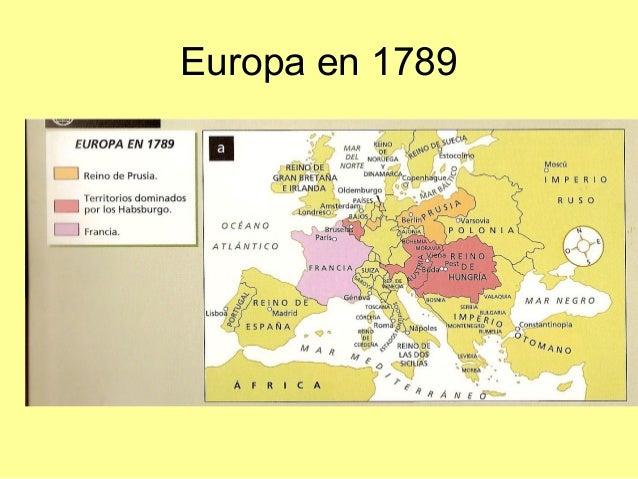 Europa en 1789