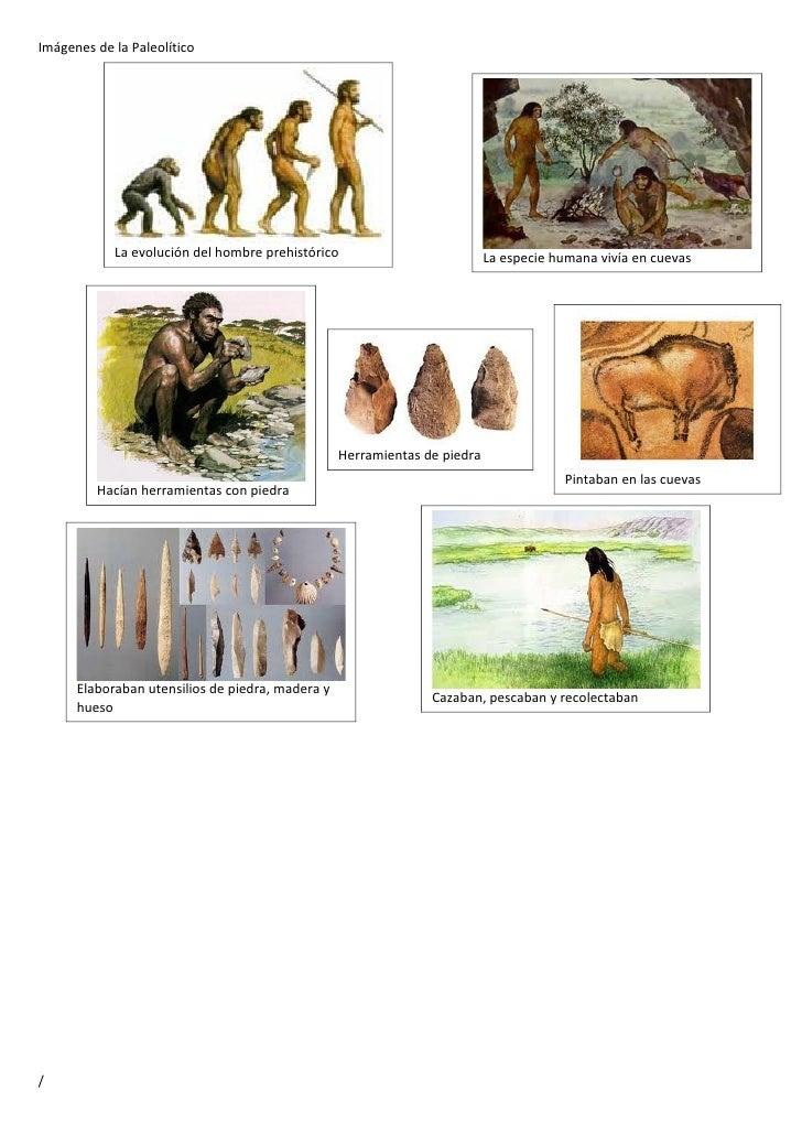 Imágenes del paleolítico