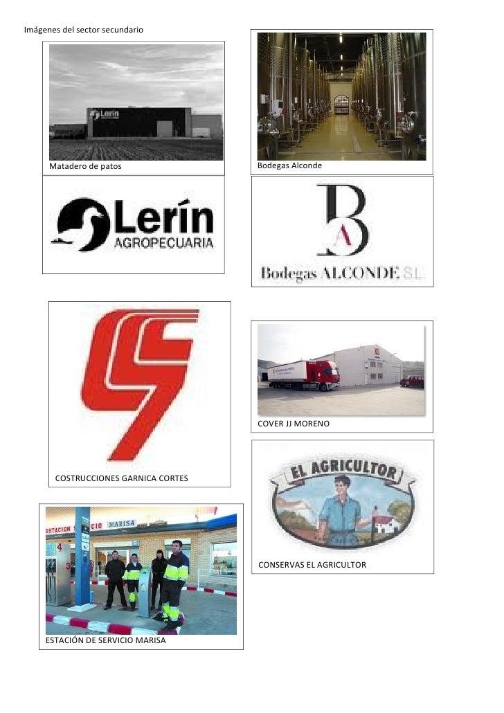 Imágenes del sector secundario