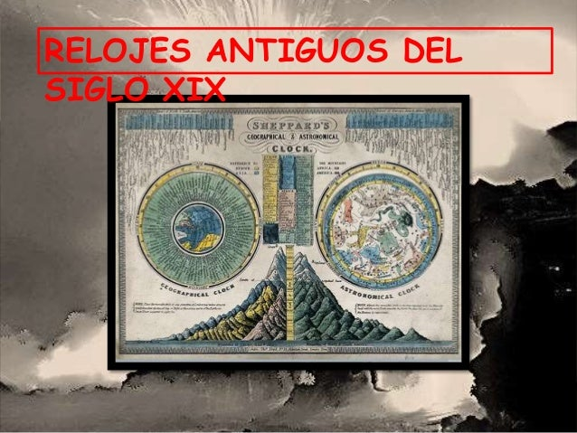 RELOJES ANTIGUOS DEL SIGLO XIX