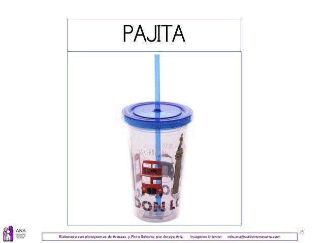 29 PAJITA Elaborado con pictogramas de Arasaac y Picto Selector por Amaya Áriz. Imágenes Internet info.ana@autismonavarra....