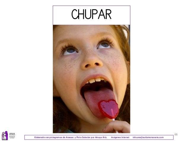 66 CHUPAR Elaborado con pictogramas de Arasaac y Picto Selector por Amaya Áriz. Imágenes Internet info.ana@autismonavarra....