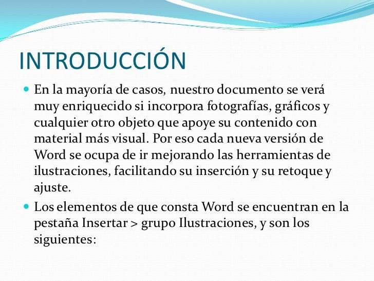 Imágenes y gráficos word Slide 2
