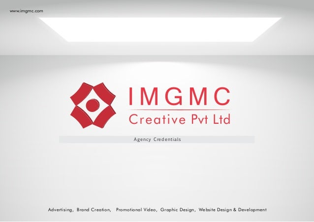 brochure design services by imgmc creative private limited