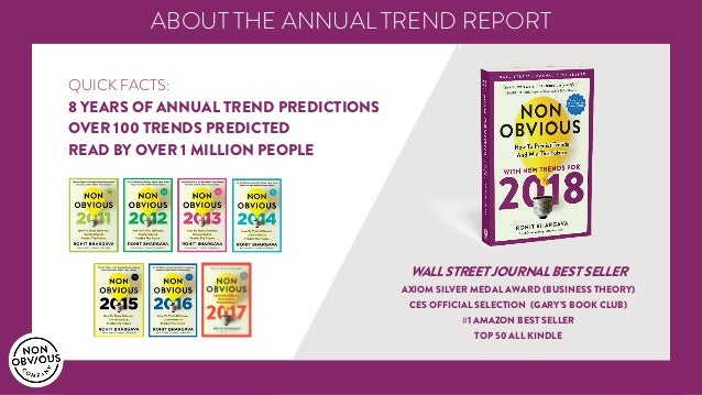 5 Non-Obvious Trends For 2018 | Exclusive Book Preview