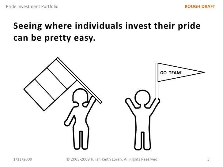Pride Investment Portfolio: An Innovation Management Advanced Topic Slide 3