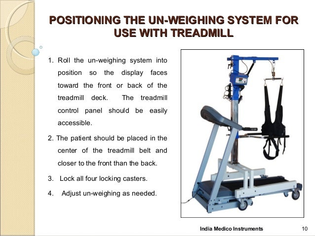 how to use instrument panel on at480 treadmill