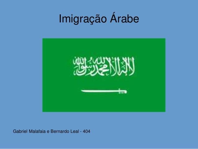 Imigração Árabe Gabriel Malafaia e Bernardo Leal - 404