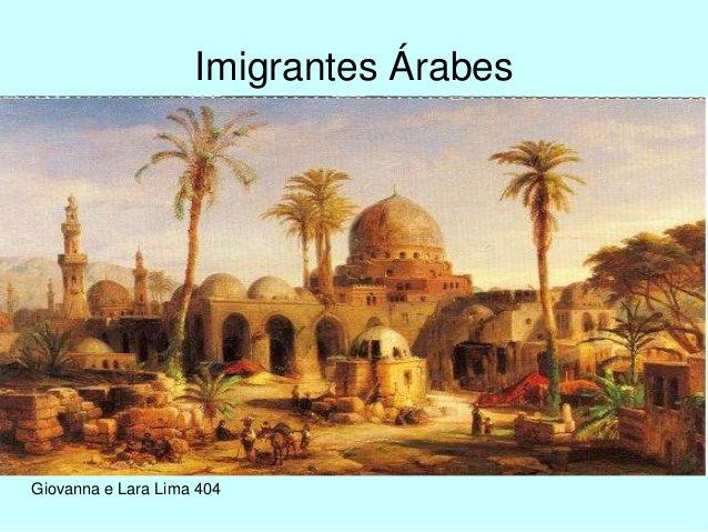 Imigrantes Árabes Giovanna e Lara Lima 404