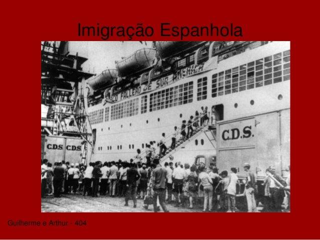 Imigração Espanhola Guilherme e Arthur - 404