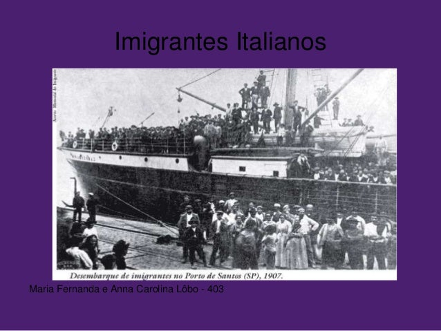 Imigrantes Italianos Maria Fernanda e Anna Carolina Lôbo - 403