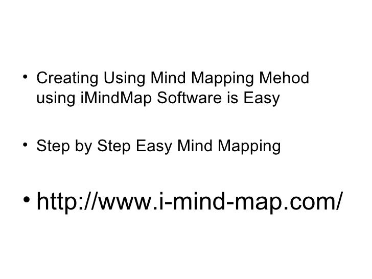 imindmap mind mapping software by tony buzan - Imindmap Software