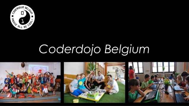 Coderdojo Belgium