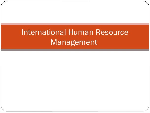 human resources management case studies