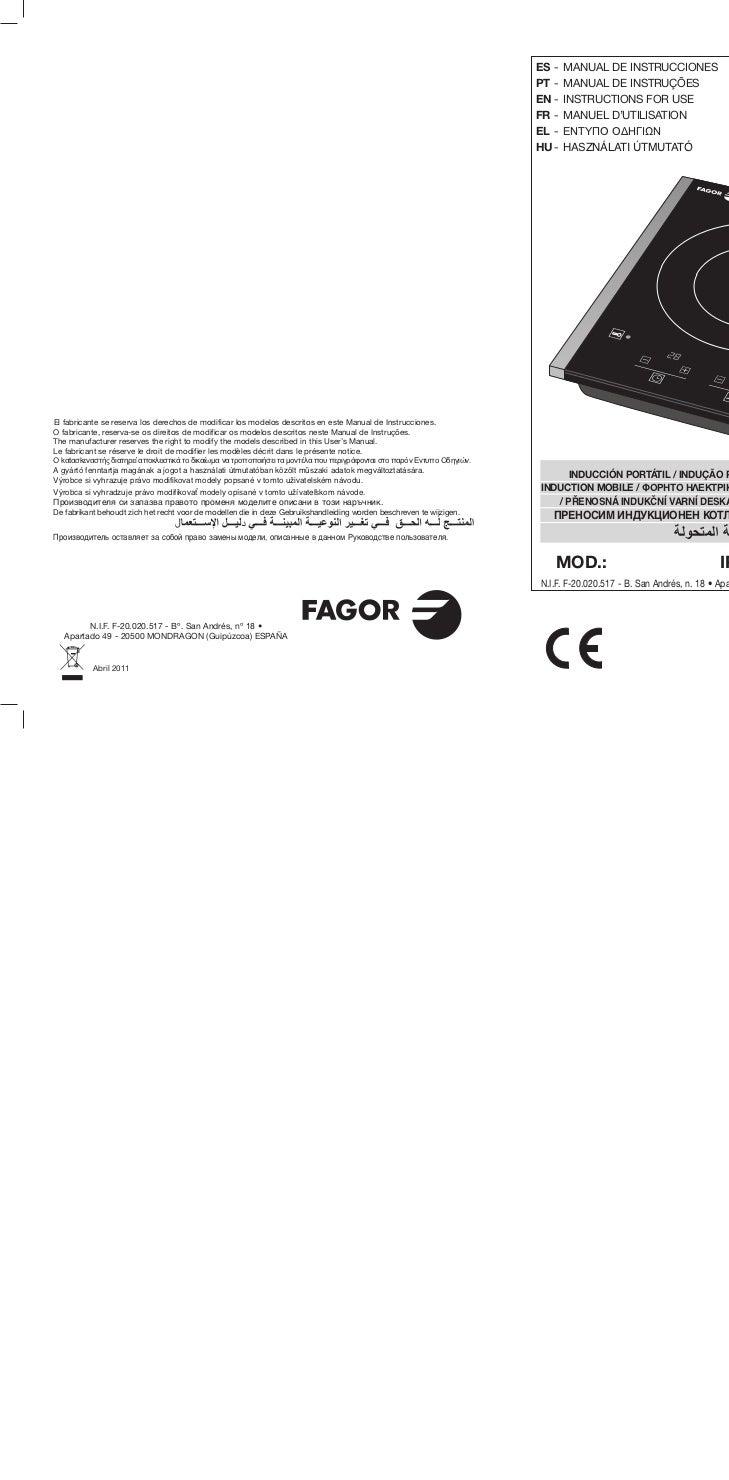 Im ip 300 x servicio tecnico fagor for Servicio tecnico fagor burgos