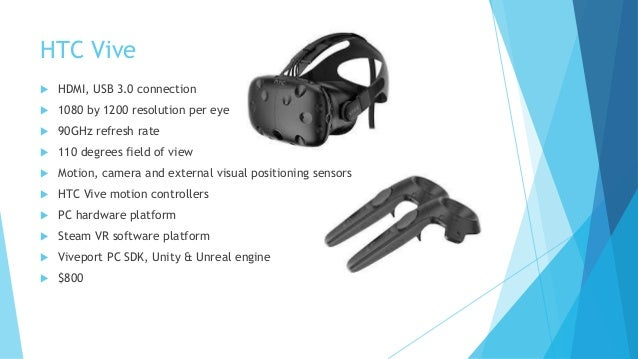 VR Devices and Methods of Development