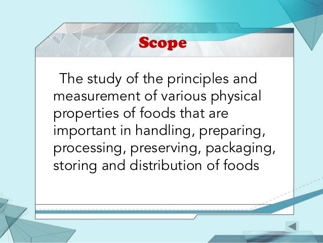 scope and importance of food processing