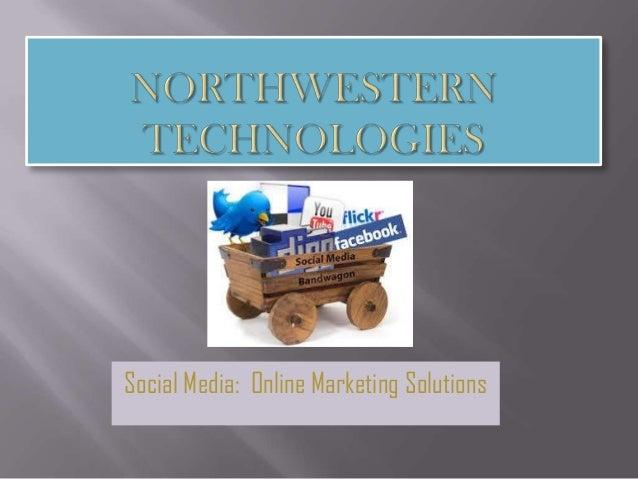 Social Media: Online Marketing Solutions