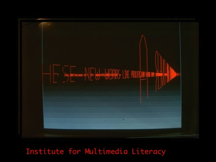 Institute for Multimedia Literacy