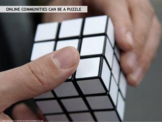 ONLINE COMMUNITIES CAN BE A PUZZLE www.spy.org.es/upload/actuacion/imagen-35.jpg