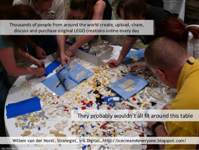 Thousands of people from around the world create, upload, share, discuss and purchase original LEGO creations online every...