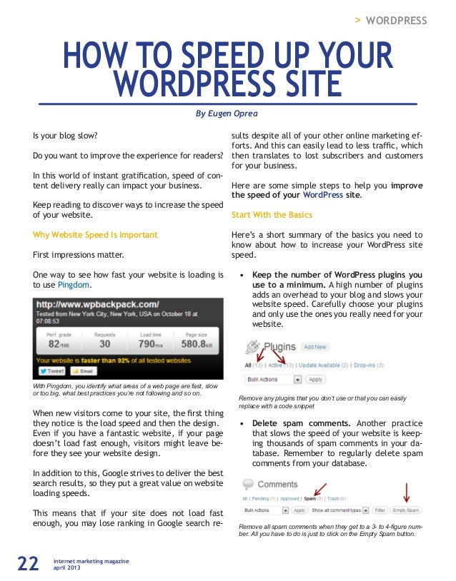 Tạp trí Internet Marketing Số 21 - APR 2013 slideshare - 웹