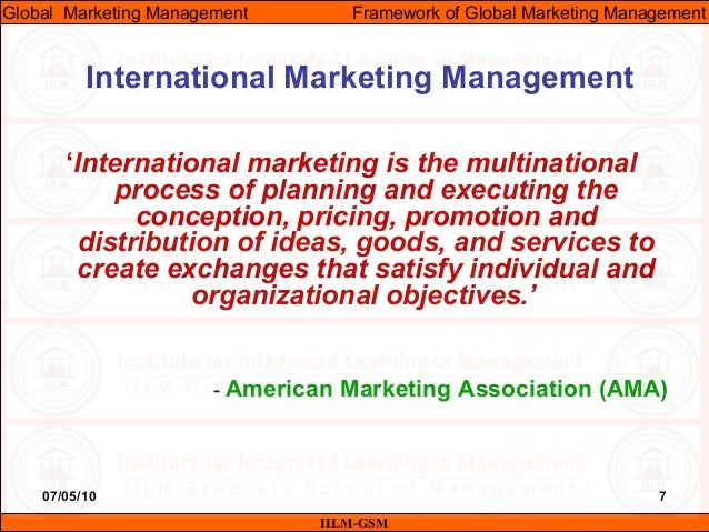 global marketing management Description try (free for 14 days), or rent this title: www wileystudentchoicecom the 7th edition of global marketing management  prepares students to.