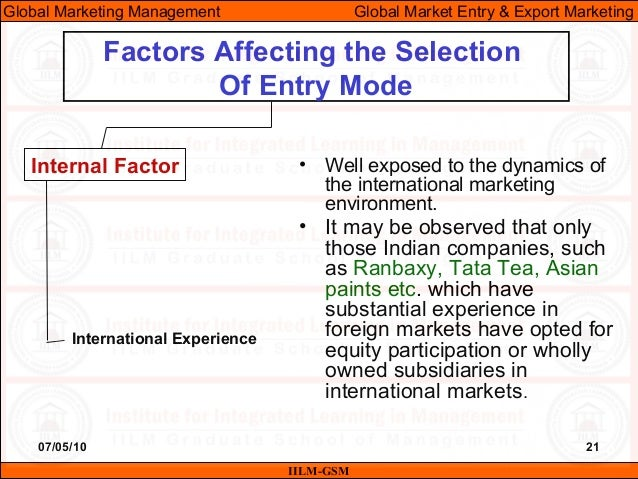 external and environment factors affecting tata tea External and internal factors affecting general electric management: theory, practice, and application external and internal factors affecting general electric we will use general electric, also known as ge, to illustrate how internal and external factors affect the four functions of management.