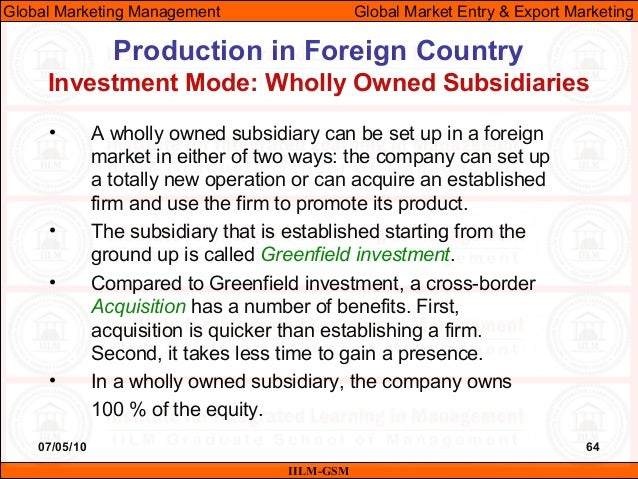 cross border strategic alliances and foreign market entry essay Our paper concerns cross-border strategic alliances only, we can also view them as a non-equity- exchange type of cross-border mergers, at least from analytical point of view 7 therefore, our.