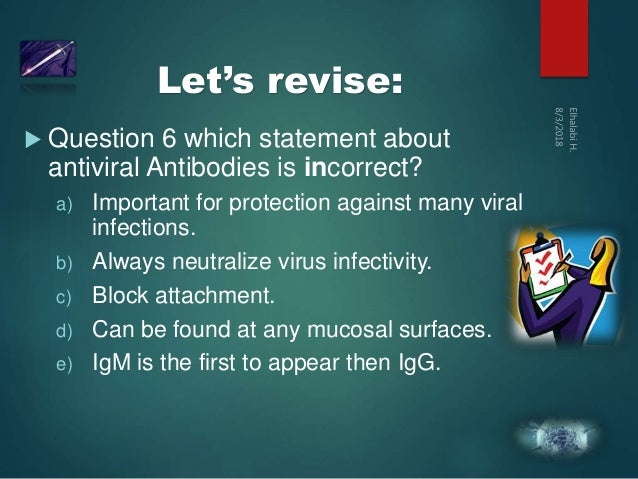Immunology to viruses depth veiw
