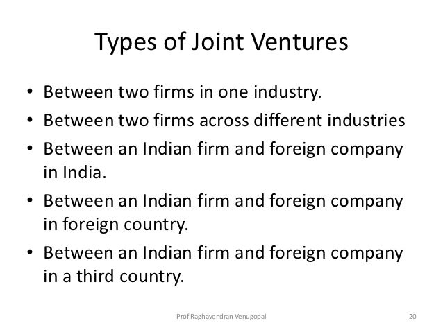 international business failure of joint venture Risk management is a critical aspect of international business activities, as different countries present varying degrees of political, economic and social risks.