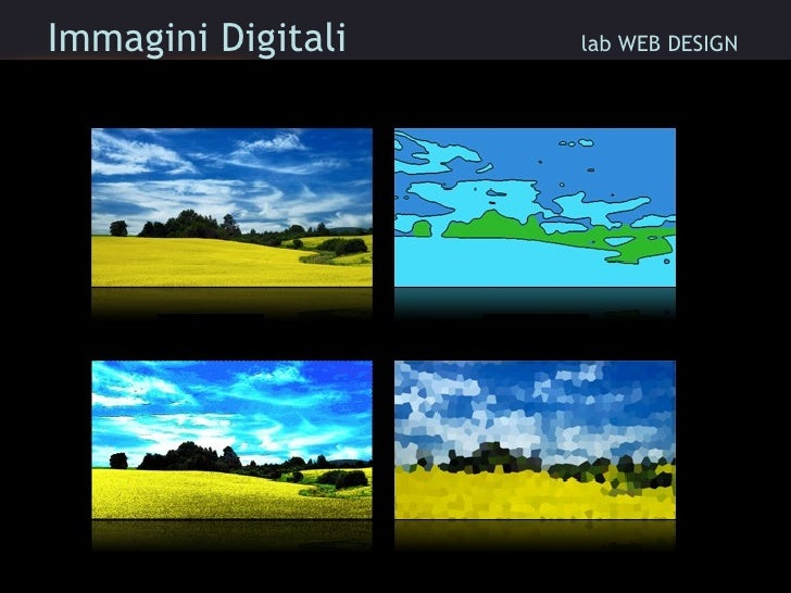 Immagini Digitali    lab WEB DESIGN