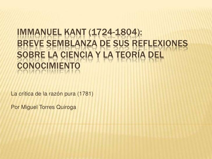 Immanuel kant   filosofía de la ciencia(2)
