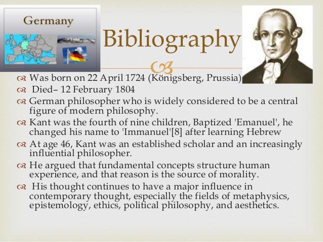 immanuel kant on political philosophy bibliography 2