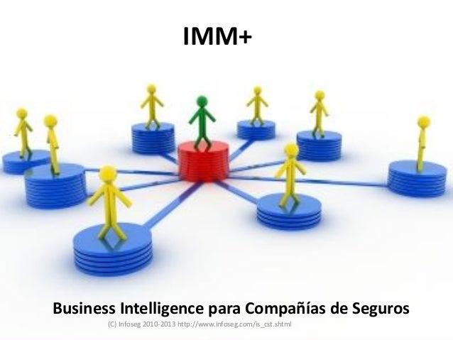 IMM+Business Intelligence para Compañías de Seguros       (C) Infoseg 2010-2013 http://www.infoseg.com/is_cst.shtml