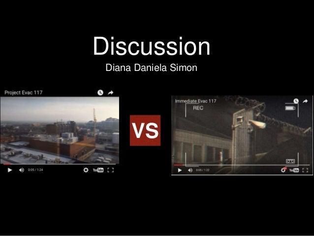 Discussion Diana Daniela Simon VS