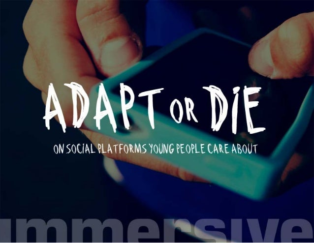 "ll ' A 4 ' ,  3 l i. '_ L.  ' i Mi"" — a ; ,.- .  a l . . .  l "" Q.   L, ""  ON SOCIAL PLATFORMS YOUNG PEOPLE CARE ABOUT"