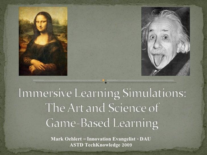 Mark Oehlert – Innovation Evangelist - DAU ASTD TechKnowledge 2009