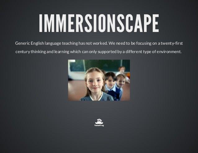 ImmersiveScape by New MIlestones Slide 2