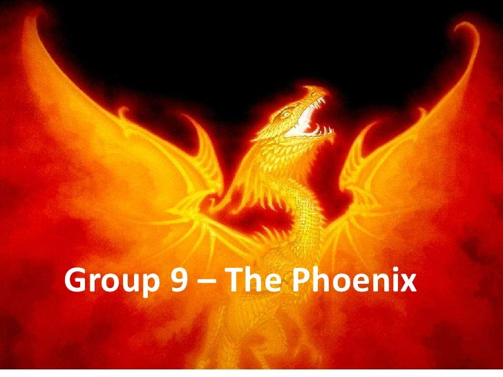 Group 9 – The Phoenix<br />