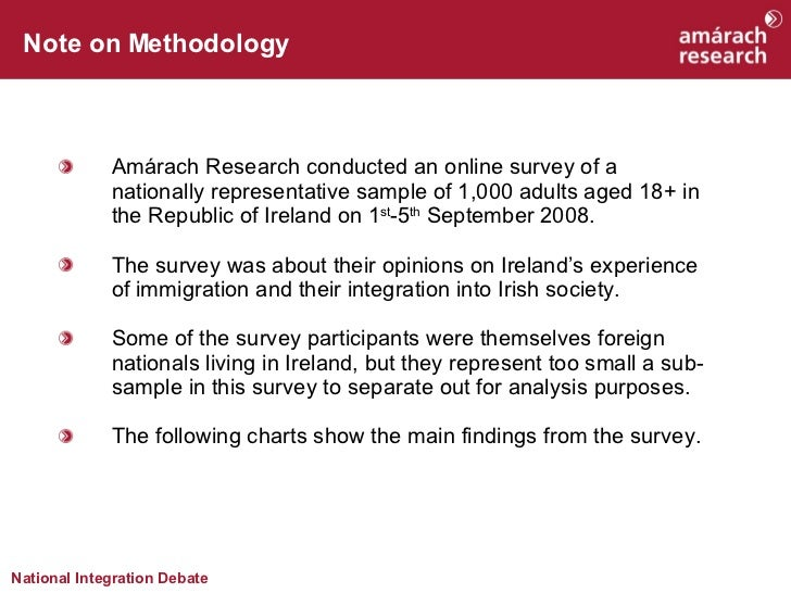 Immigration And Integration In Ireland   An Amárach Research Report Slide 2