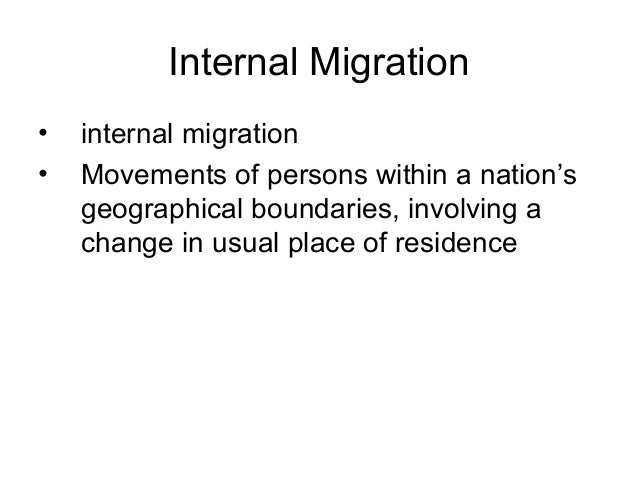 """""""Push and pull factors of immigrations Essay Sample"""