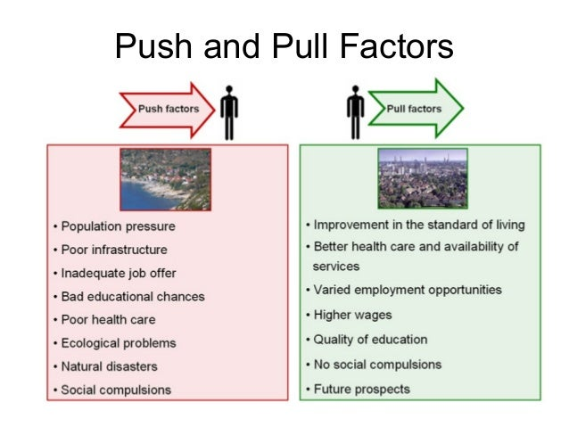 push factors for mexican immigrants