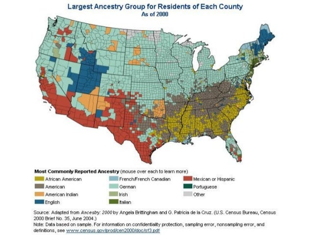 Immigration - 19th century us immigration map