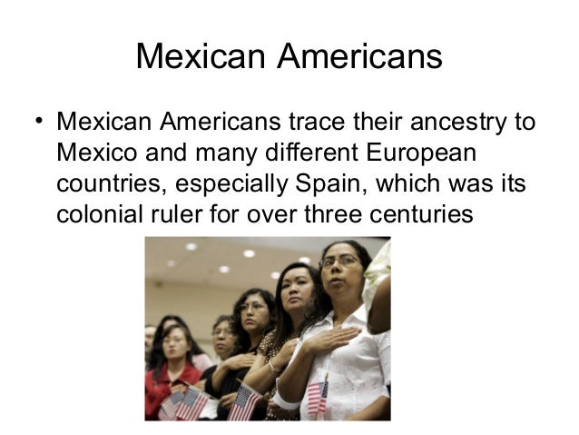 Mexican Americans • Since 1900, there have been many uprisings, failed revolutions, and failed economic policies that have...