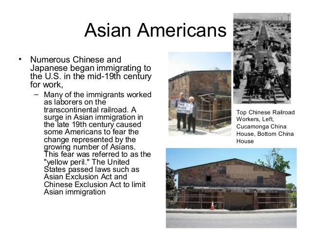 Asian Americans • The largest ethnic subgroups are: 1. Filipinos (4.0 million), 2. Chinese (2.8M), 3. Asia Indians (1.9M),...