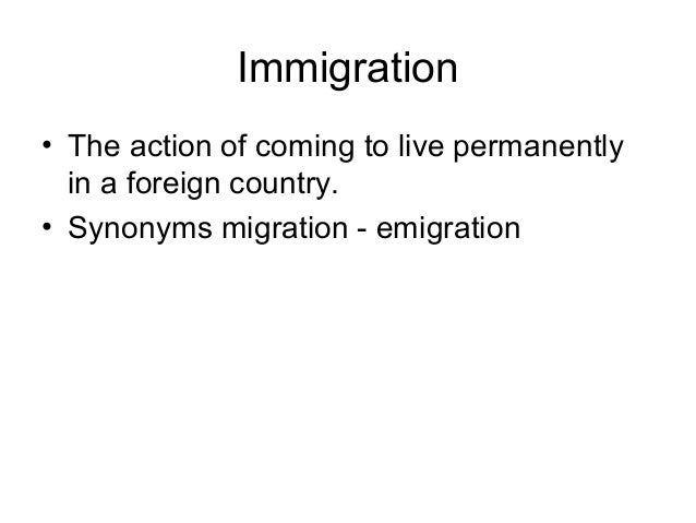 Internal Migration • internal migration • Movements of persons within a nation's geographical boundaries, involving a chan...