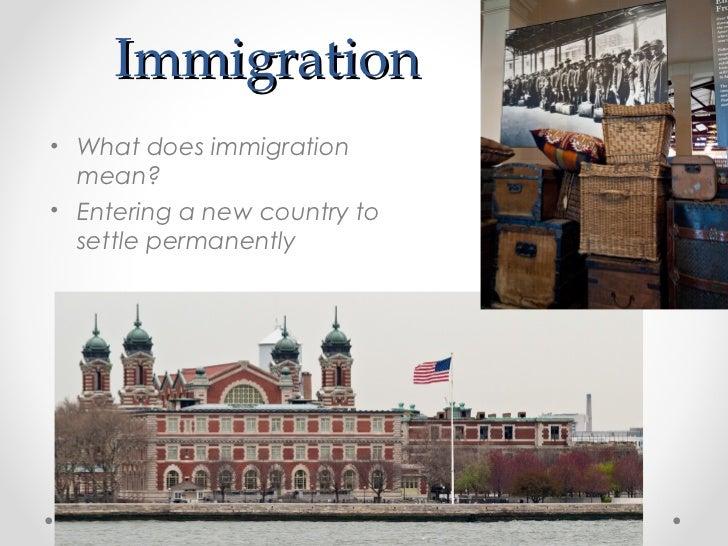 Immigration 6