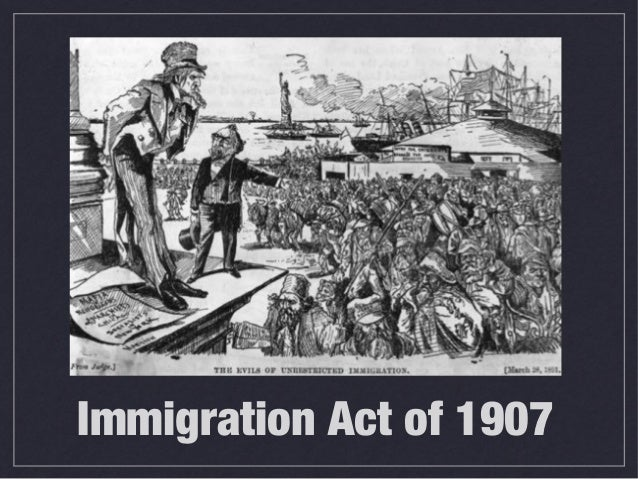 Immigration Act of 1907